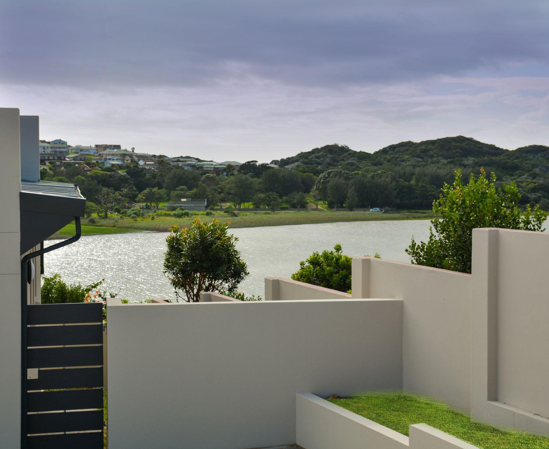Balugha River Estate yard view of Balura River