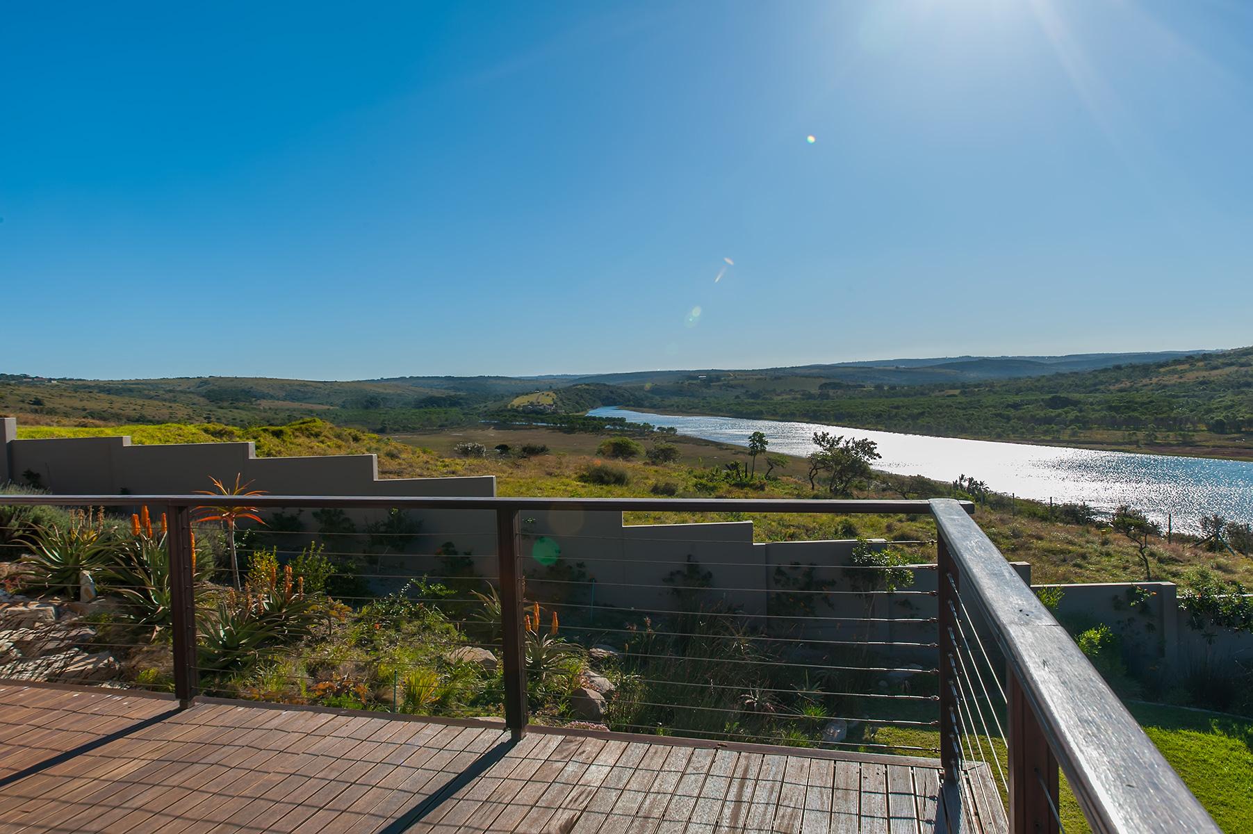View form Balugha River Estate Deck
